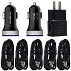 For Moto Razr+ G Stylus 2021 G7 G9 Play Car Wall Charger USB Plug Type C Cable