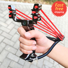 New Wrist Catapult Outdoor Hunting Slingshot Folding Brace High Velocity Gift