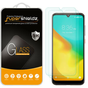 [2-Pack] Supershieldz Tempered Glass Screen Protector for ZTE Blade A7 Prime