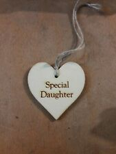 Handmade Wooden Gift Tags Special Daughter