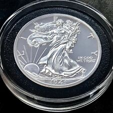 New 2020 Walking Liberty 2 oz 39mm 999 Fine Silver Half Dollar Tribute