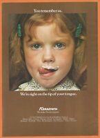 FLORASYNTH flavors - 1980 Vintage Print Ad