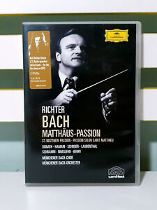 Bach: Matthaus Passion (Richter) DVD NEW