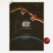 Classic Movie E.T. Poster The Extra-Terrestrial Poster Cafe Room Bar Decor A127