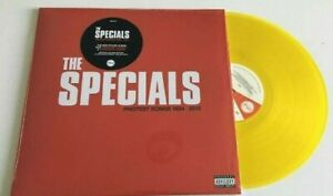 THE SPECIALS PROTEST SONGS 1924 - 2012 YELLOW TRANSPARENT VINYL LP Sealed