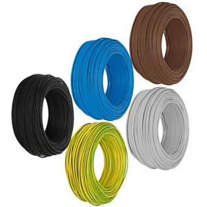 Meterware Aderleitung H07V-K (flexibel) 6mm² (1,45€/m) - 10mm² (2,53€/m)