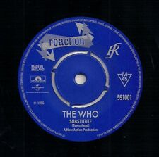 """60s MOD 7"""" 45 -THE WHO - SUBSTITUTE / INSTANT PARTY - REACTION - REISSUE"""