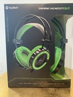 Toptech Gaming Headset Gh7 For PS4 /PS4 Pro/Xbox One /Nintendo Switch /pc GREEN