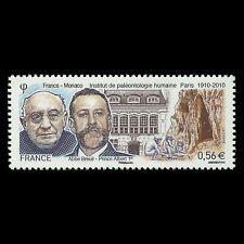 France 2010 - Institute of Human Paleontology - Joint Issue - Sc 3821 MNH