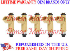 OEM Denso Fuel Injector Set of 5 FITS VOLVO S40 2009-2010