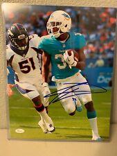 Kenyan Drake Signed Miami Dolphins 11x14 Photo JSA