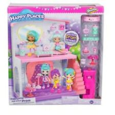 Shopkins Happy Places High School Prom Extension Playset Dance Hall Powder Room