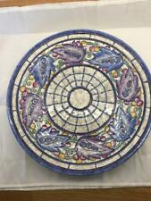 More details for crown ducal 1930's charlotte rhead pattern 5391 14 1/2