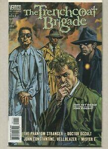 The Trenchcoat Brigade-Set 1-4 NM Doctor Occult  DC/Vertigo Comics CBX2F