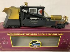 ✅PRO WEATHERED MTH PREMIER CP RAIL JORDAN SPREADER SNOW PLOW! CANADIAN PACIFIC