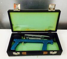 Lancia piattelli manuale pistola a sgancio manuale anni 80 con valigetta vintage