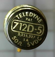 Teledyne 712D-5 GHz RF DPDT Relay for Bypass or Antenna Switching 5VDC Non-Latch