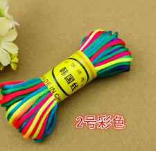 20M Chinese Knot Satin Nylon Braided Cord Macrame Beading Rattail Wire Cord 2MM