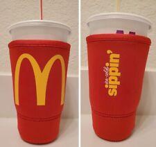 McDonald's Koozie / Coozie - Java Sok Neoprene Large Plastic Cup Sleeve 32 oz