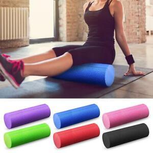 Yoga Foam Roller Muskel Massage Pilates Massagerolle Fitness Gymnastik Ball-EVA