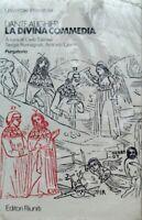 DANTE ALIGHIERI LA DIVINA COMMEDIA PURGATORIO EDITORI RIUNITI 1980 INTONSO