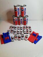 VINTAGE RETRO PEPSI CAN SHOOTER Joblot Bundle Diecast Cars toys 1980s 1990s lot