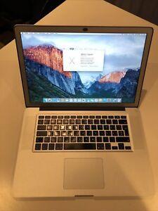 """MacBook Pro 15"""", 2010, (500Go, Intel Core i5 5e génération, 2,53GHz, 4Go)..."""