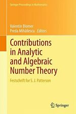 Contributions in Analytic and Algebraic Number , Blomer, Valentin,,