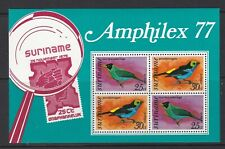 Suriname 1977 Airmail Birds MS874 UM