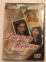 Leading Women Triple Feature (NEW) DVD Goldie Hawn, Sally Field & Sandra Bullock
