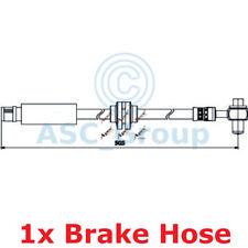 APEC BRAKING 505mm Scheibe Bremssattel flexibel GUMMISCHLAUCH hos3885