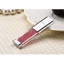 Fashion Crystal Pen USB 2.0 Flash Drive 128GB 64GB 32GB 16GB U Disk Memory Stick
