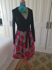 Diane Von Furstenberg Dress US8-UK10-12 worn once and dry cleaned