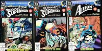 SUPERMAN BATMAN Dark Knight Over Meteopolis 3 Issue Crossover Story VF DC Comics