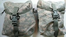 USED MOLLE II Sustainment Pouch US Army ACU Universal Digital Camo - LOT OF 2