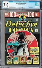 Detective Comics #438 CGC 7.0 (Dec 73-Jan 74 DC) Batman, Manhunter story, 100 pg
