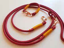 Set Halsband/Tauhalsband und Hundeleine/Tauleine, HU 22cm, 6mm Stärke, Chihuahua