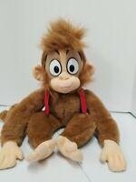 """Disney Mattel Vtg. 1992 Aladdin Movie Abu Plush Stuffed Animal Monkey 16"""""""