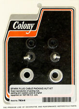 Harley 27-59 All Models Cable Packing Nut Colony 7804-6