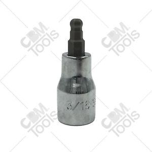 """SK Hand Tools 45506 3/8"""" Dr. 3/16"""" Hex Ball Bit Socket"""