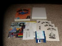 """Oil's Well MS-DOS PC Game on Mint 3.5"""" disks Complete in box"""