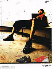 PUBLICITE ADVERTISING 065  2009  REEBOK   baskets  IVERSON  I3 TRAINER