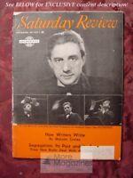 SATURDAY REVIEW November 30 1957 JOHN BARBIROLLI BERNARD HERRMANN SLEWNCZYNSKA