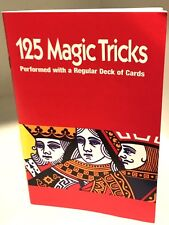 125 MAGIC TRICKS PERFORMED with REGULAR DECK OF CARDS BOOK How To Playing Royal