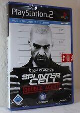 USK ab16 Jahre  PS 2 Spiel  Splinter Cell Double Agent auch für Online Spielen