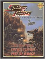 STARSHIP TROOPERS: THE ULTIMATE BATTLE FOR THE FATE OF A RACE - CORE BOOK NEW!