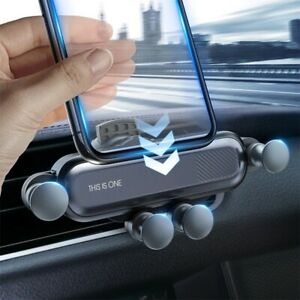 INIU Gravity Car Phone Holder Air Vent Clip Mount Support Universal GPS Stand
