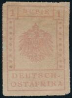DOA, MiNr. V, WUGA-Ausgabe, ungebraucht ohne Gummi, Mi. 1700,-