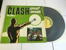 Little Harry V Billy Boyo ‎– DJ Clash Volume 2 Label: Greensleeves RARE LP EX-