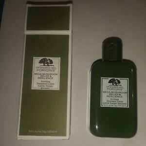 Origins Mega-Mushroom Relief & Resilience Soothing Treatment Lotion 100ml BNIB